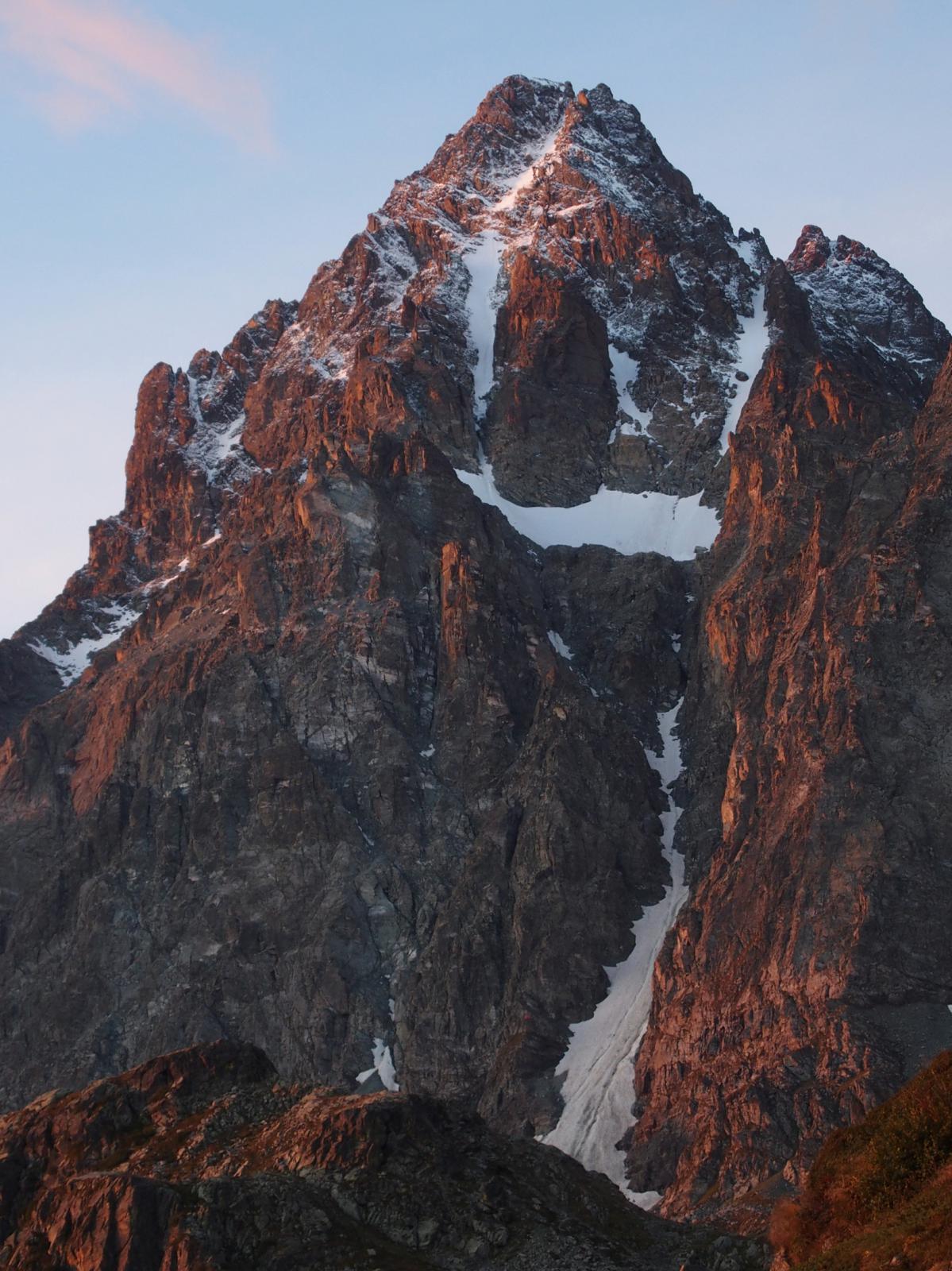 La fantastica parete Nord del Monviso