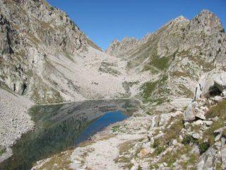 Lago inferiore e colletto di Valasco