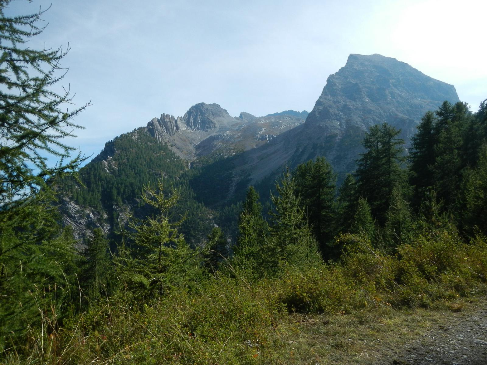 il bellissimo vallone del Gran Roc