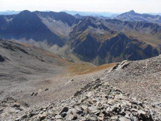 03 - il percorso di salita dalla cima