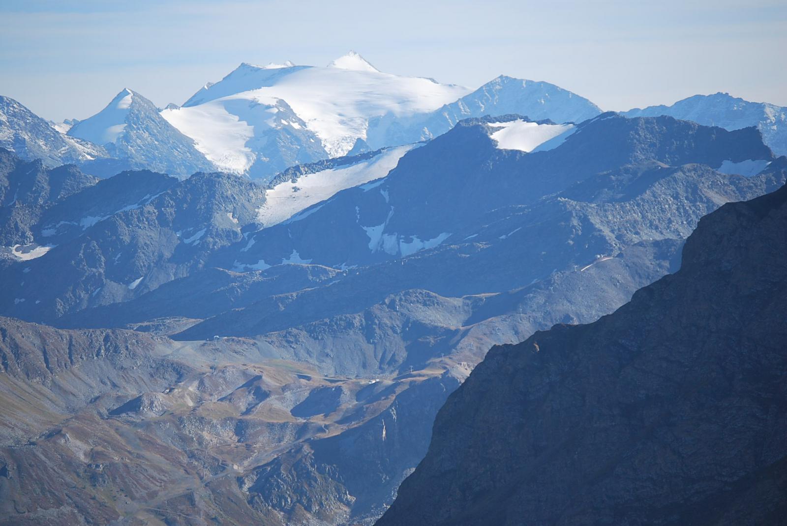 Ghiacciaio di Vaudet e Mt Freduaz