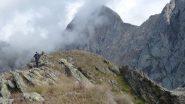 Blin sulla cresta del Montin
