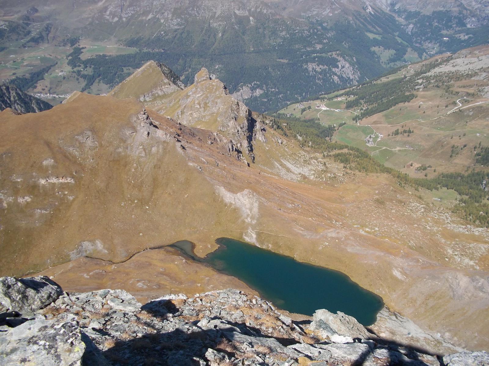 Lago Perrin dalla cima