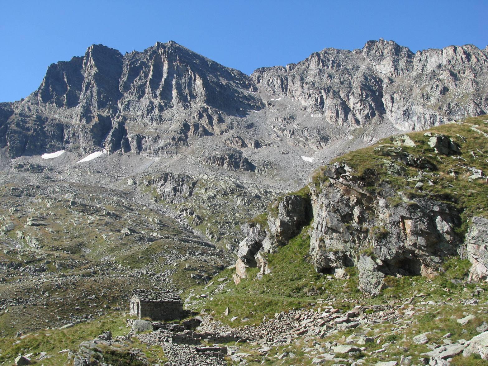 Arrivo all'Alpe Foges