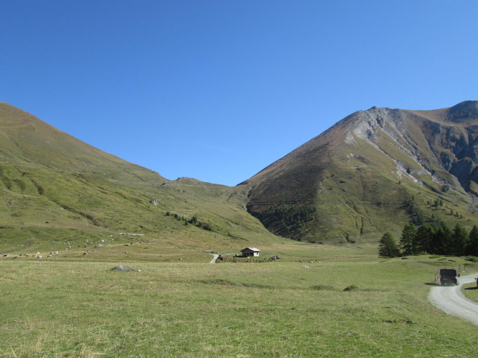 Arrivo a Pian dell'Alpe