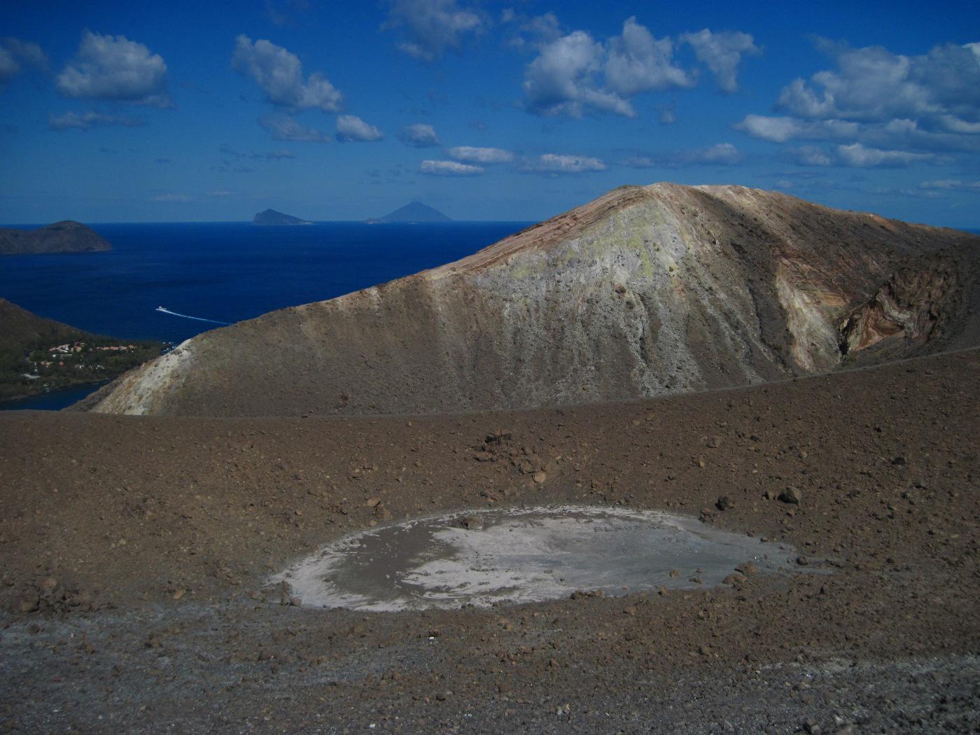 Gran Cratere di Vulcano o Vulcano de La Fossa da Vulcano Porto 2014-09-27