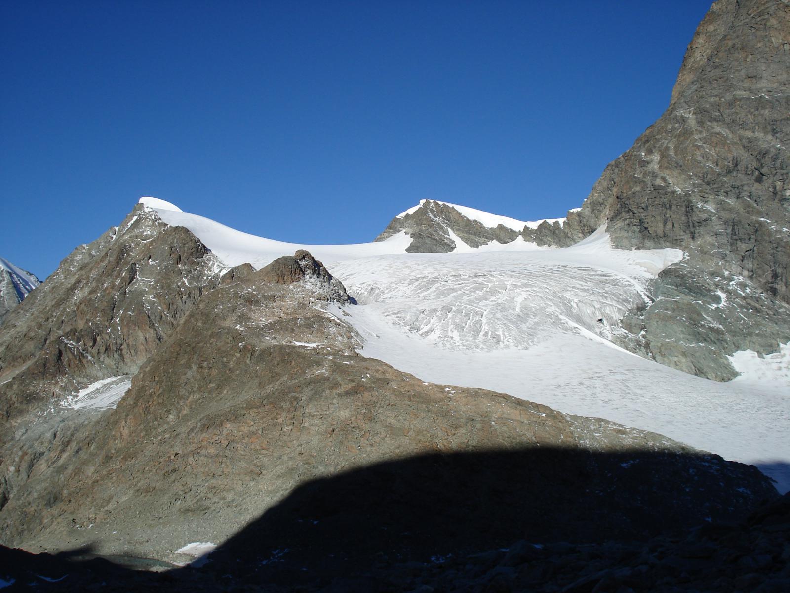 Becca e ghiacciaio d'Oren