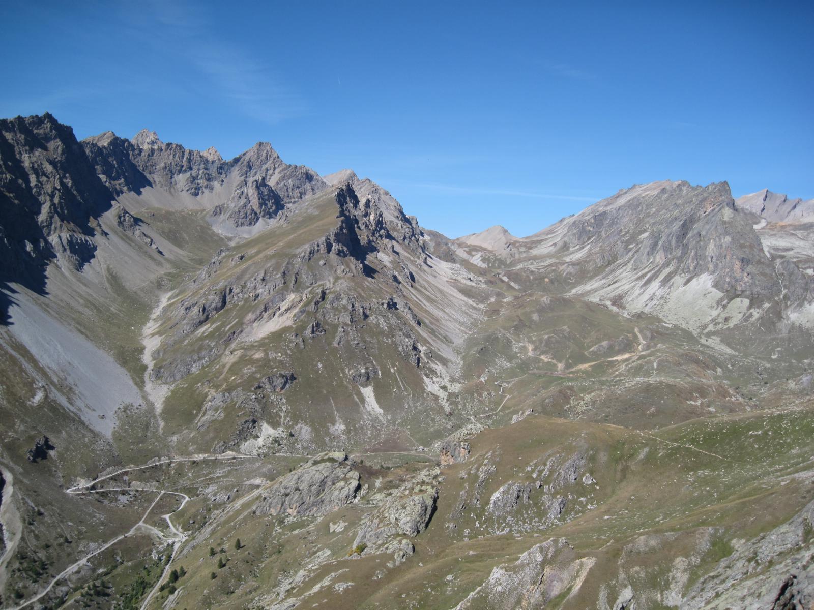 vallone Infernetto, Tete de l'Homme, Ciaslaras e vallone del Maurin