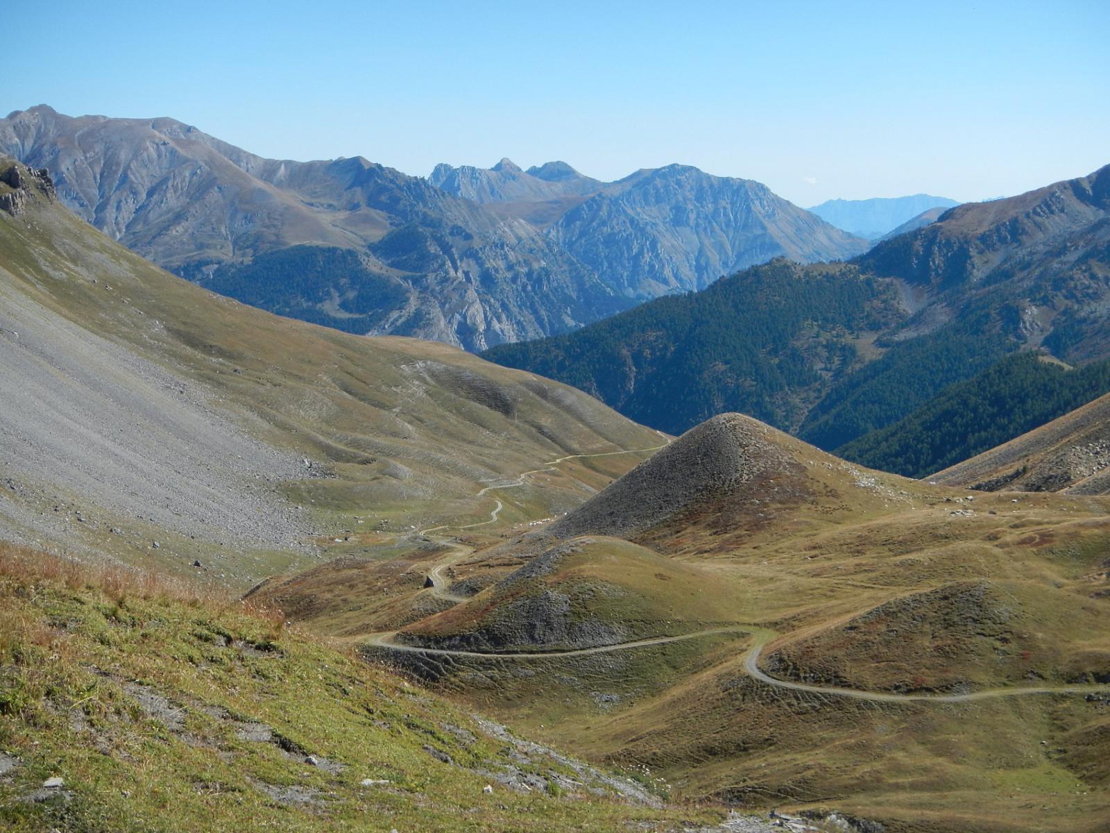dalla Bassa di Colombart: vista sul Vallone di Ferriere