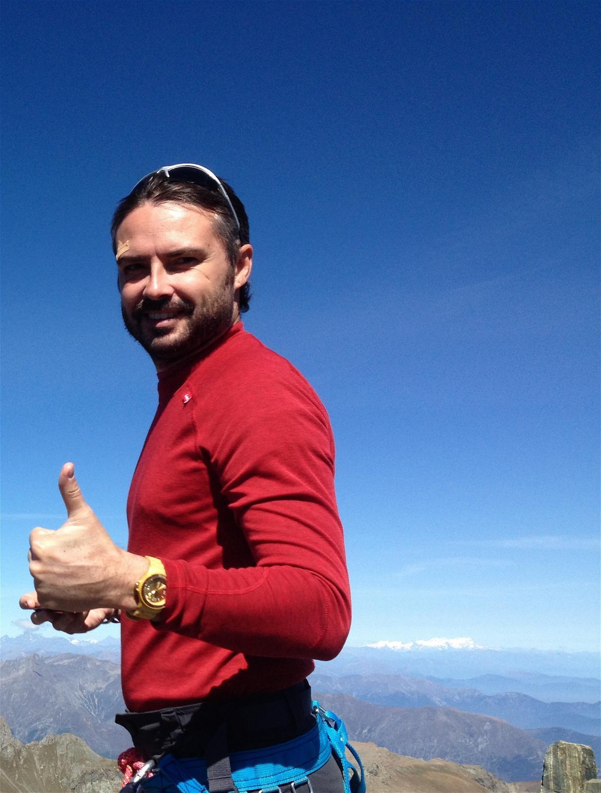 2. Il prode Alberto a Punta Roma