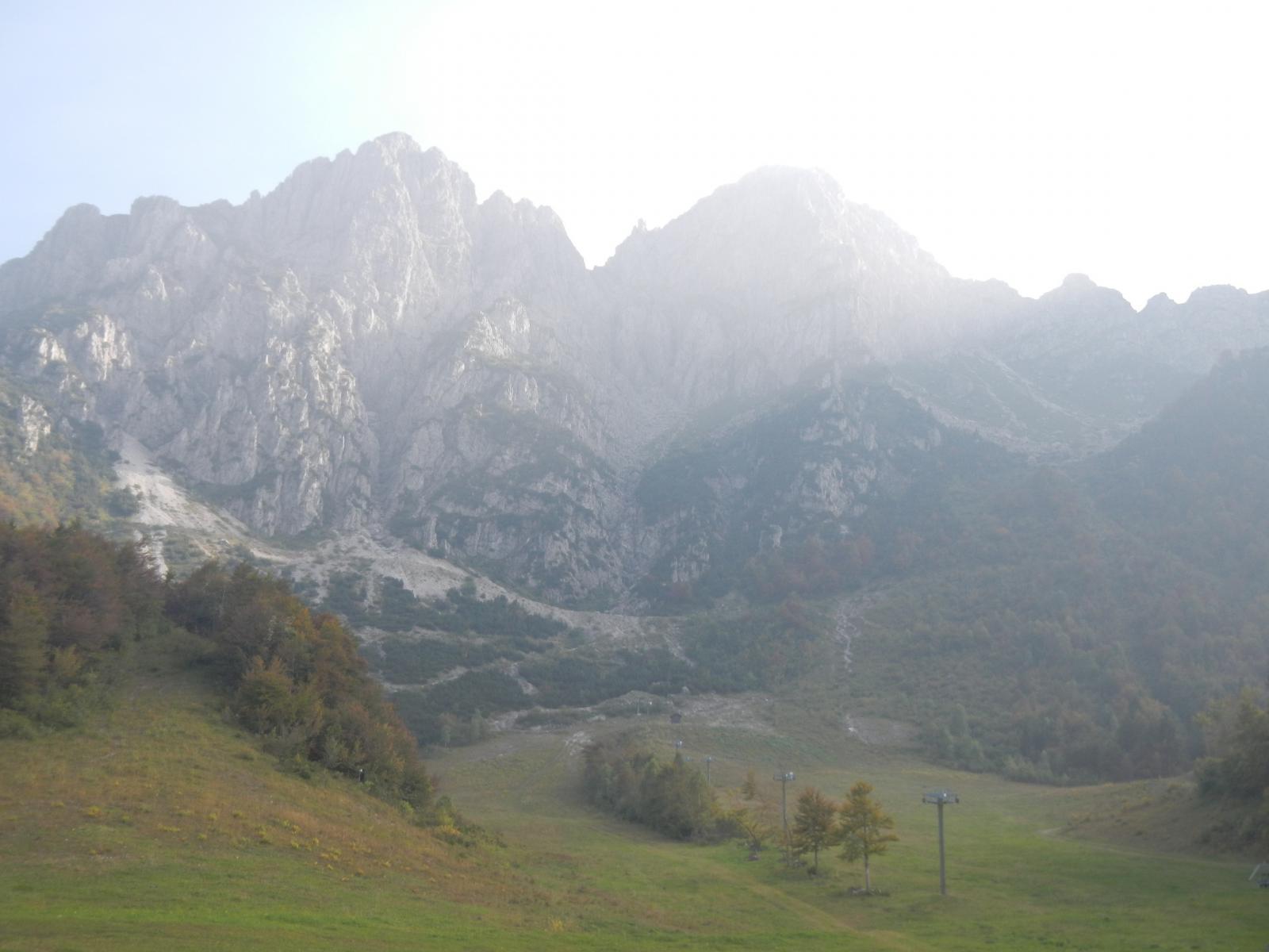 Alben (Monte) - Punta della Croce Clipper 2014-09-28