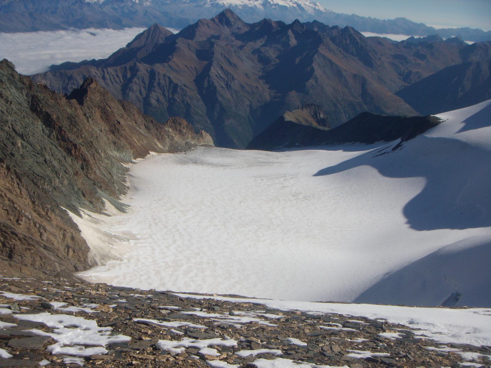ghiacciaio Trayo