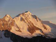 03 - tramonto sul Gran Paradiso dal Bivacco Grivola