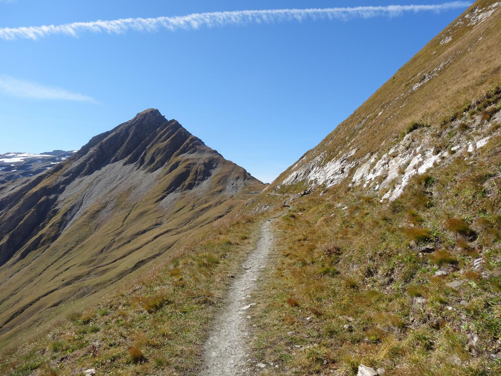 Chavannes (Col des) da Prè Saint Didier, discesa in Val Veny 2014-09-28