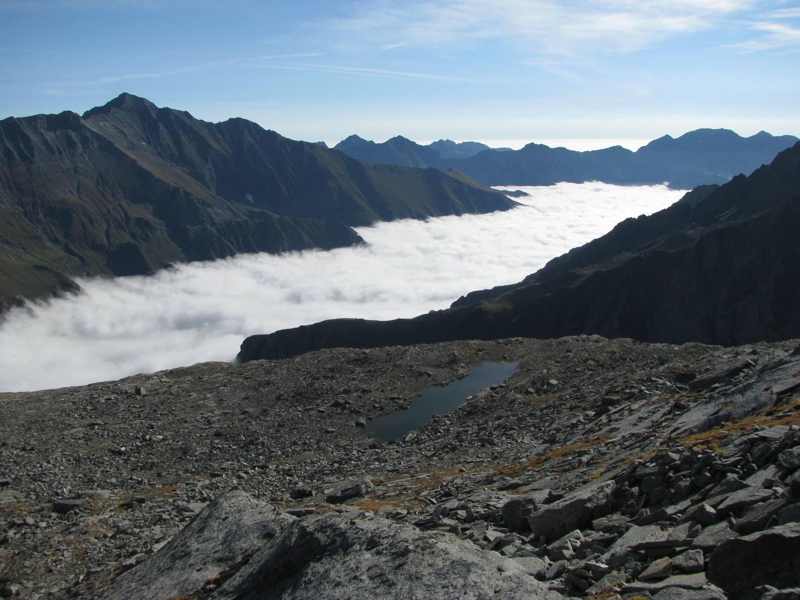 Nebbia sulla valle