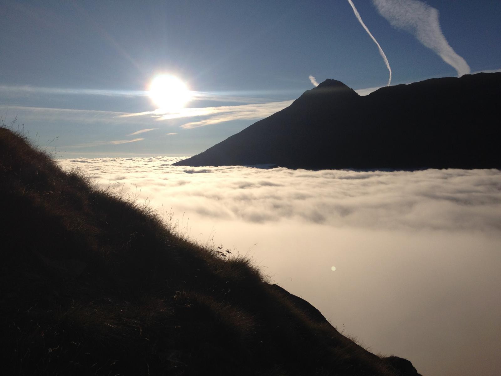 Mondrone (Uja di) da Balme per il dal Lago Mercurin e il Labirinto Verticale 2014-09-28