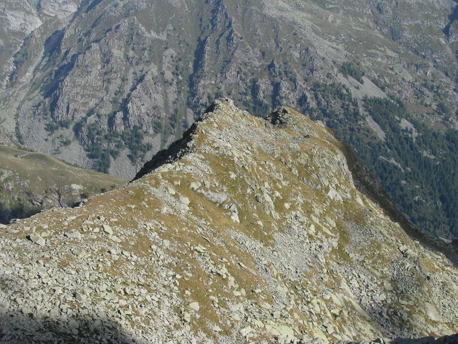 Verso il Monte Colombino
