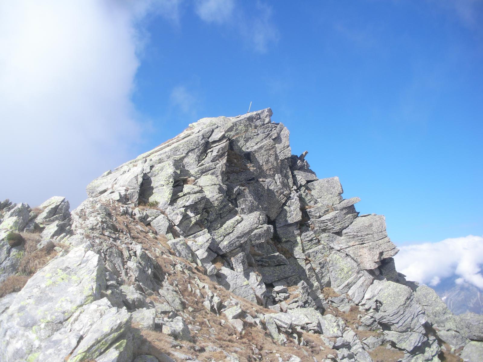 l'anticima della cresta nord..