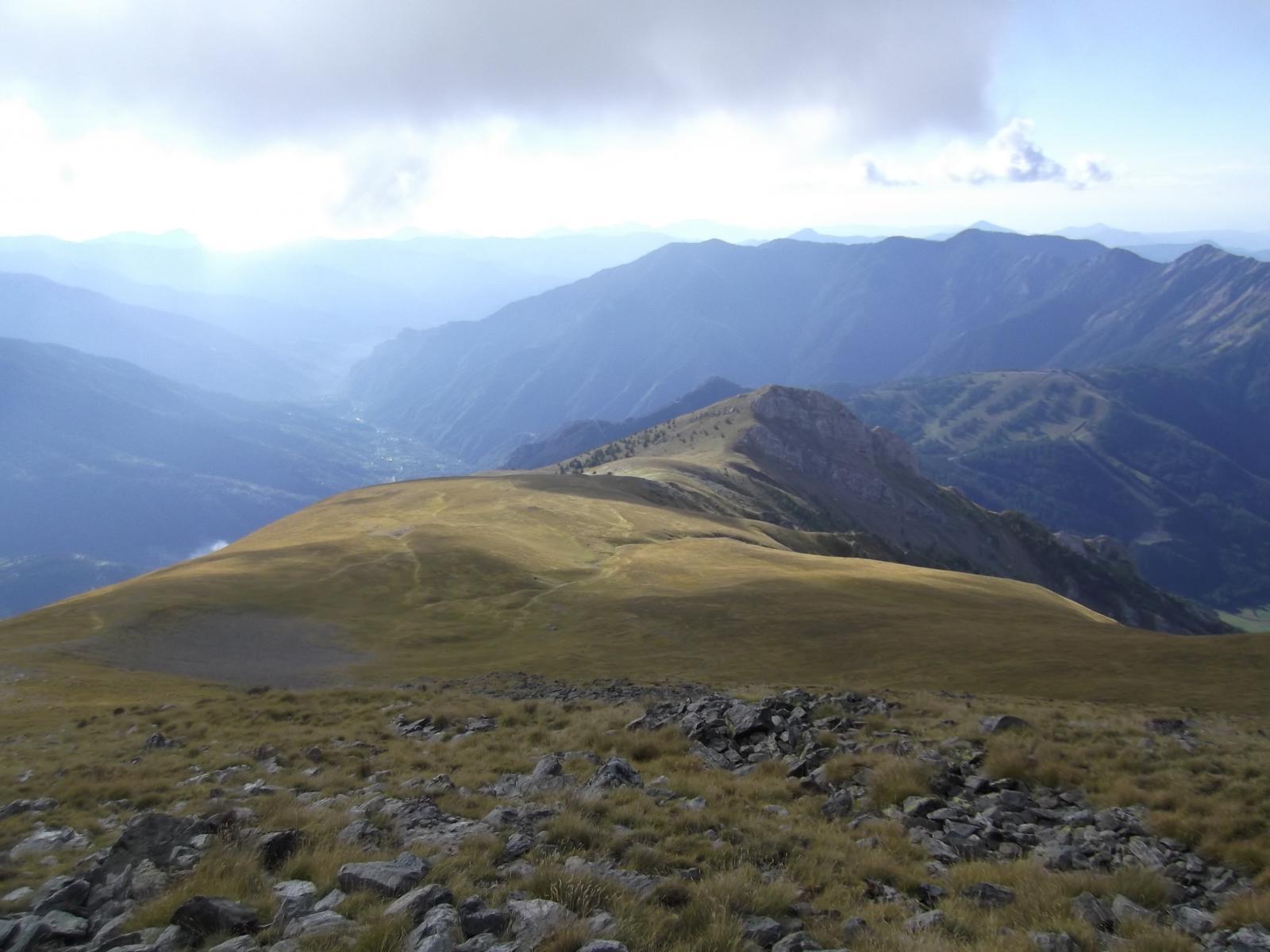 la dorsale dalla Tete du Brec
