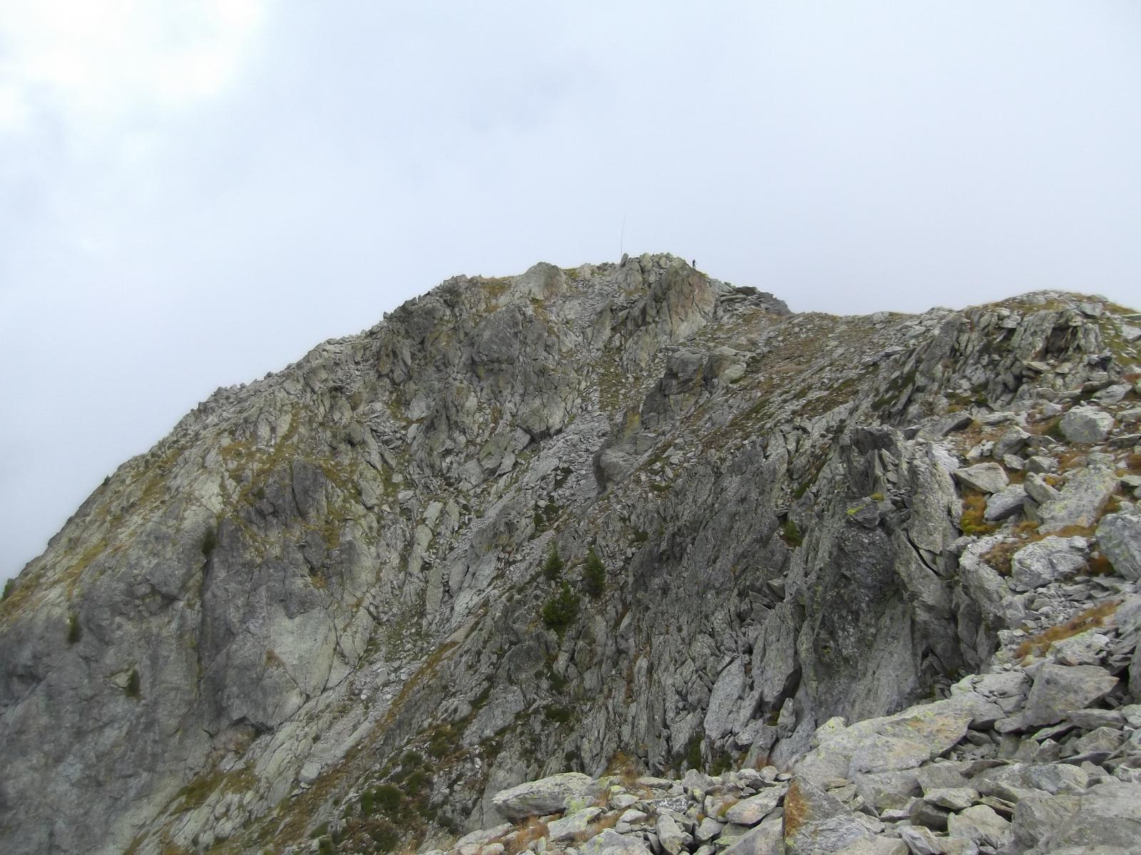 la Cime du Belletz dalla cresta di salita