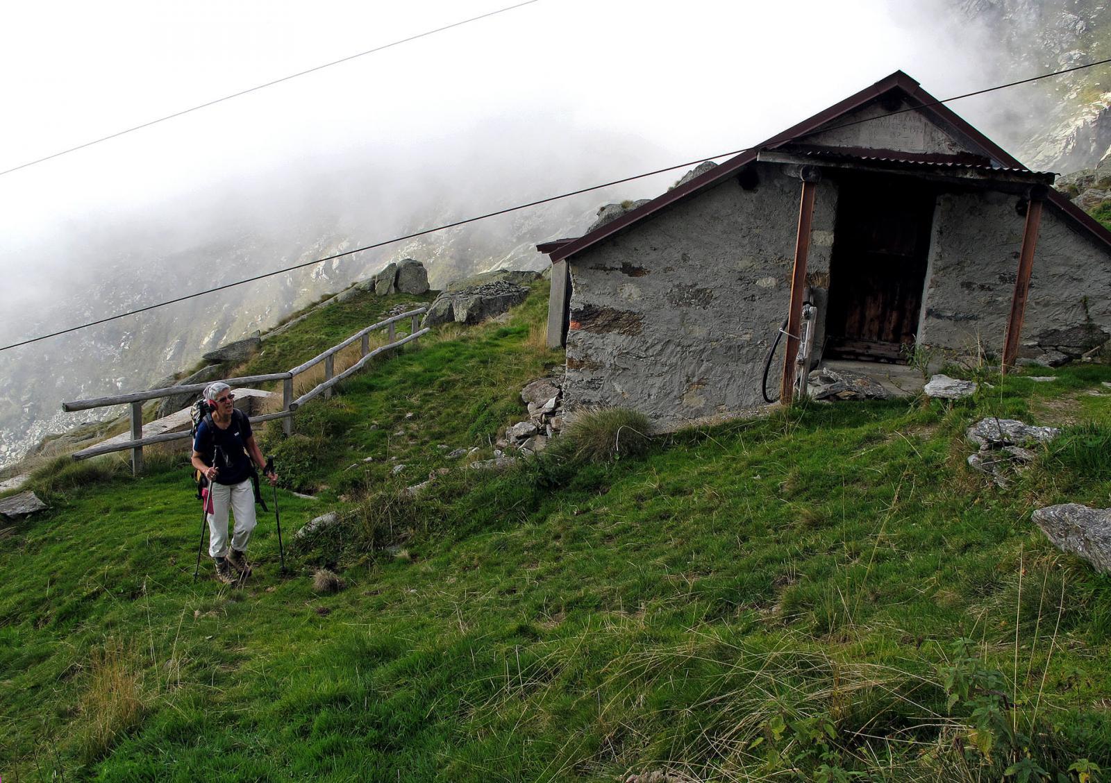 Passaggio all'alpe Mandetta