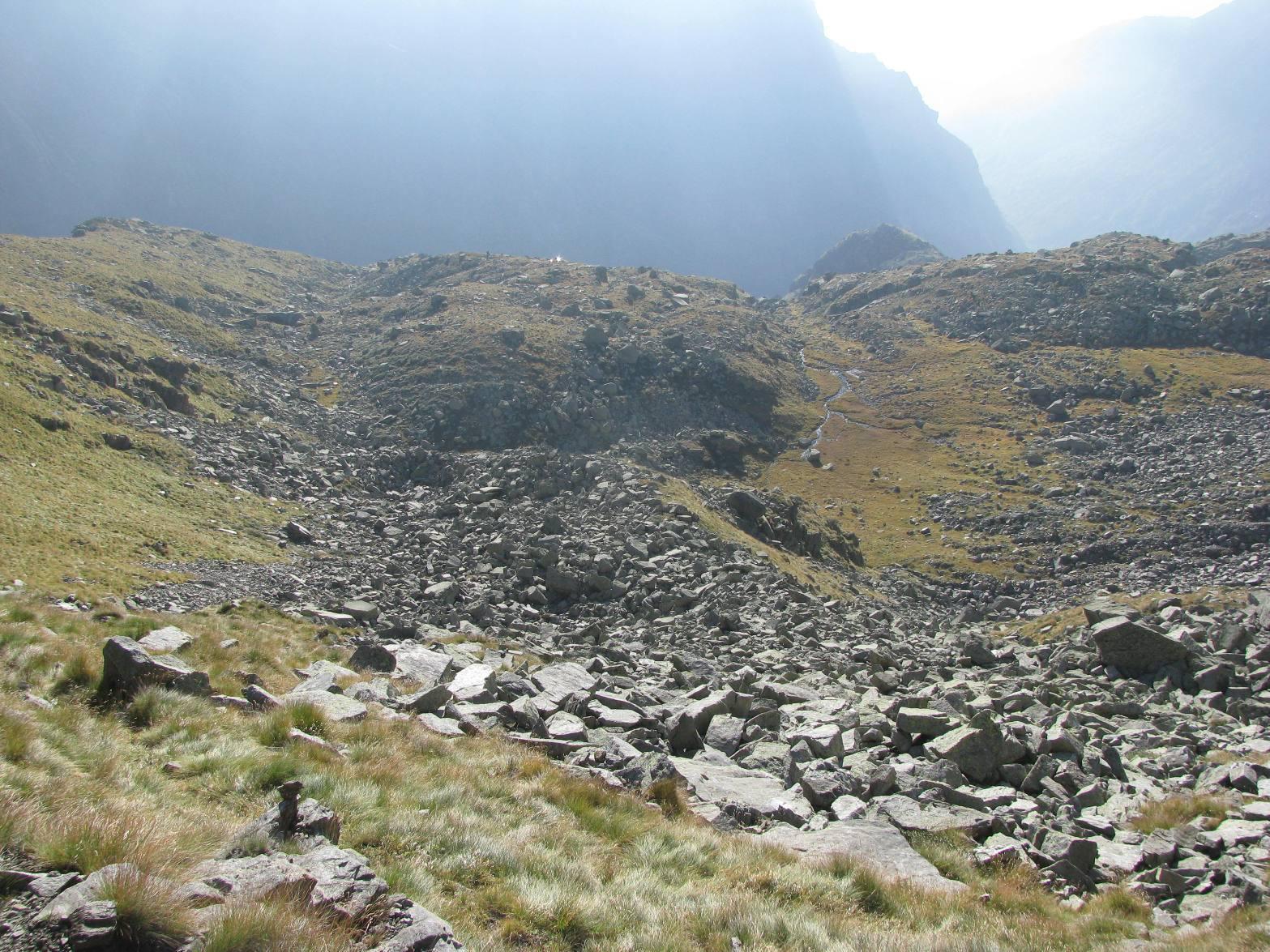 L'alto vallone di Drosa