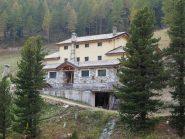 Il rifugio in costruzione a La Servaz
