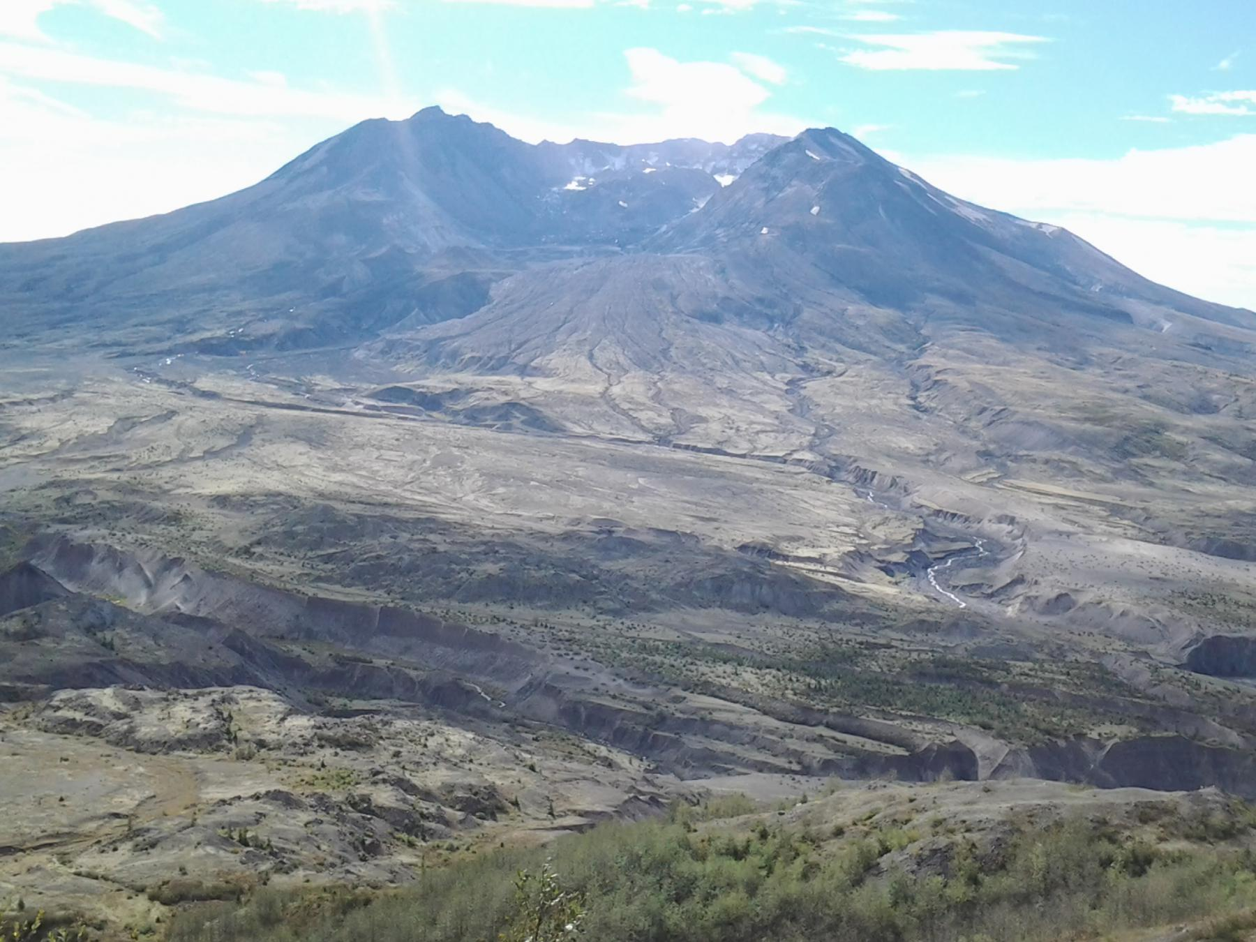 Coldwater Peak Mount St. Helens National Volcanic Monument 2014-10-04