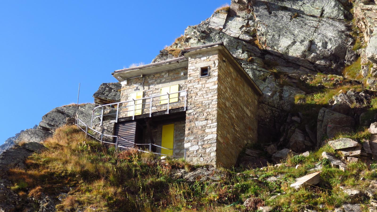 Rifugio Pian della Ballotta m. 2470