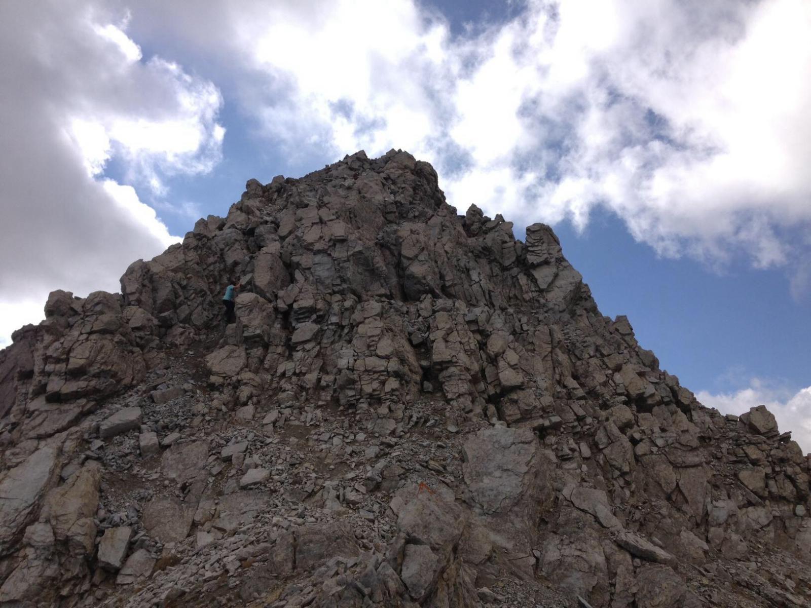 Ultime rocce prima della cima