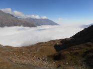 05 - sbucare sopra le nuvole salendo al Malamot