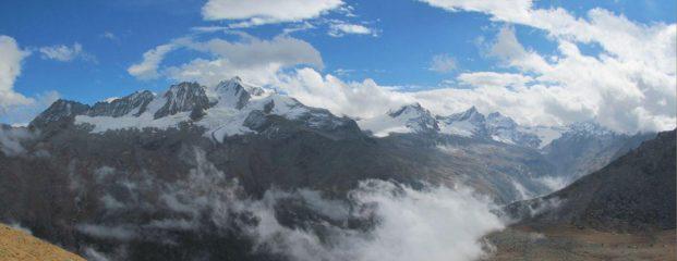Panorama sul Gran Paradiso