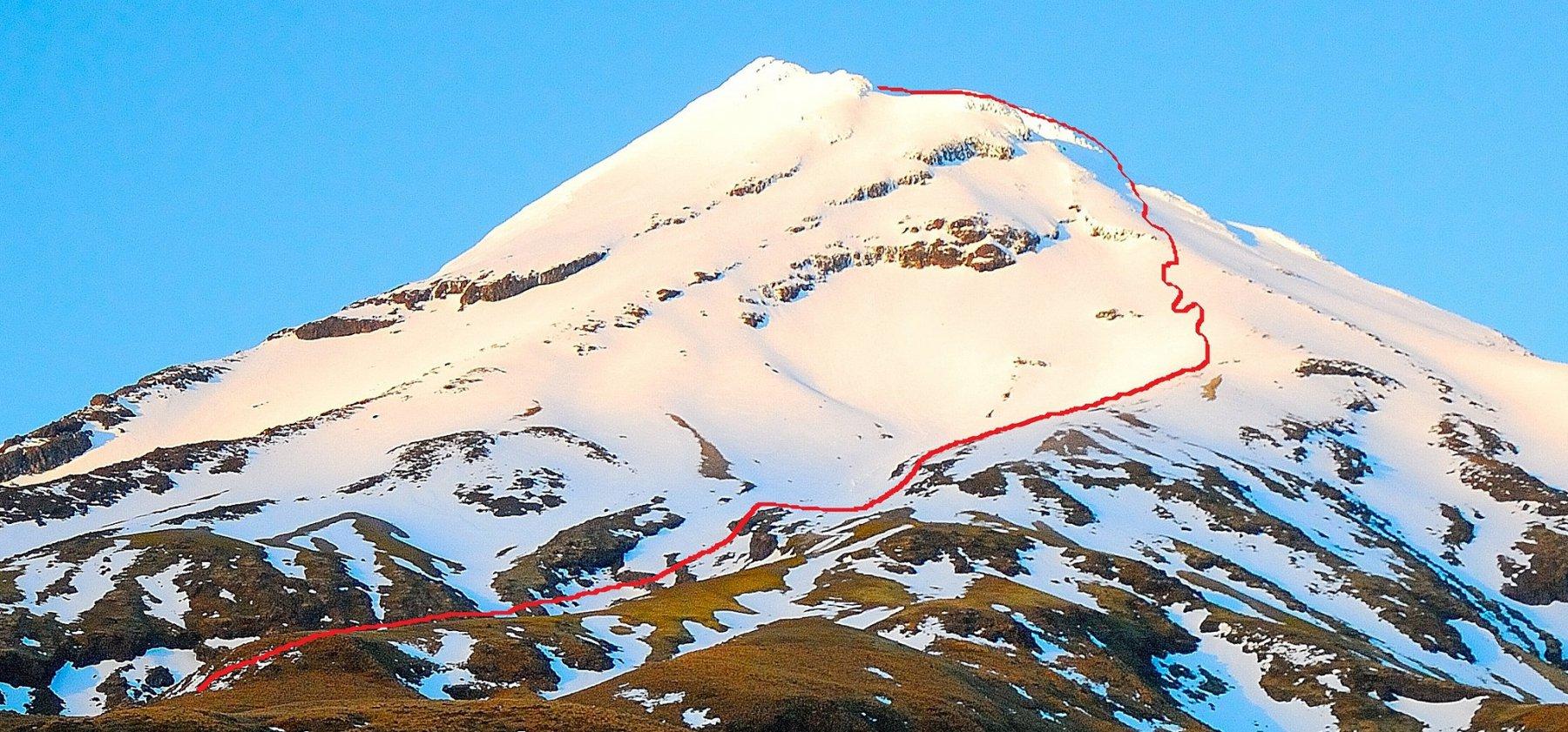 Egmont (Mount) o Taranaki itinerari vari 2014-10-11