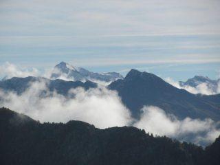 La Testa Grigia fra le nuvole