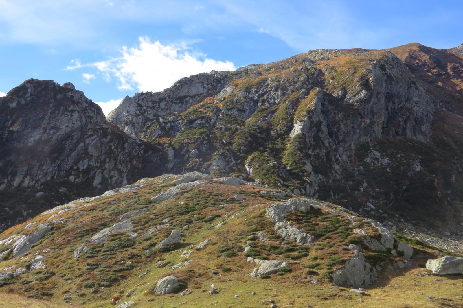 Buchet Sciapà e cresta ENE di Cima di Candele