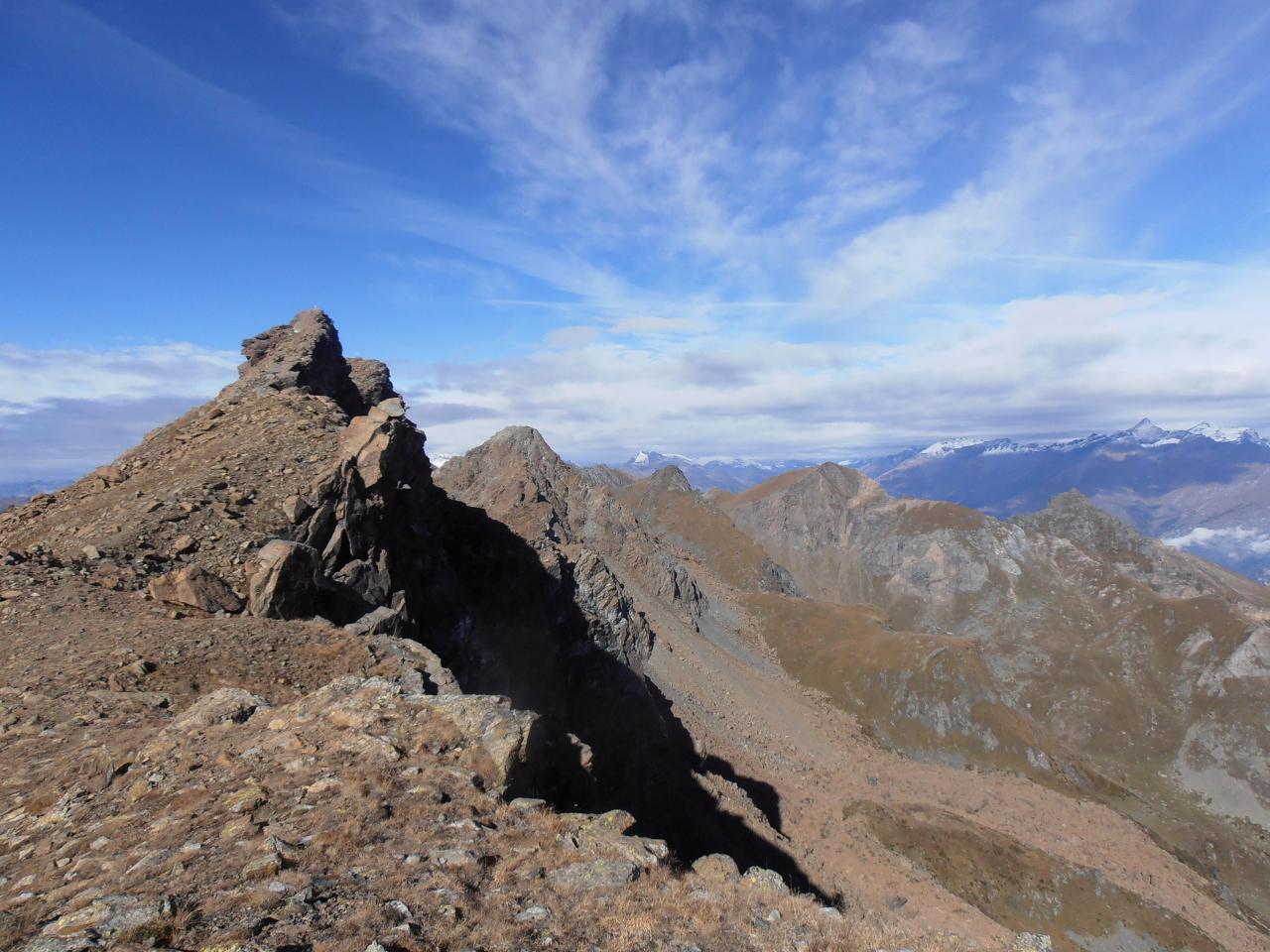 Rocciavrè (Monte), Monte Robinet, Punta Loson da Case Agostino, anello per il Colle della Roussa e Pian Neiretto 2014-10-16