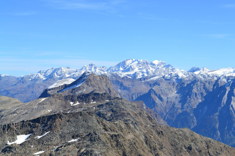 panorama verso il Bernina