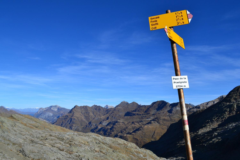 Pass da la Prasgnola (2724 m)