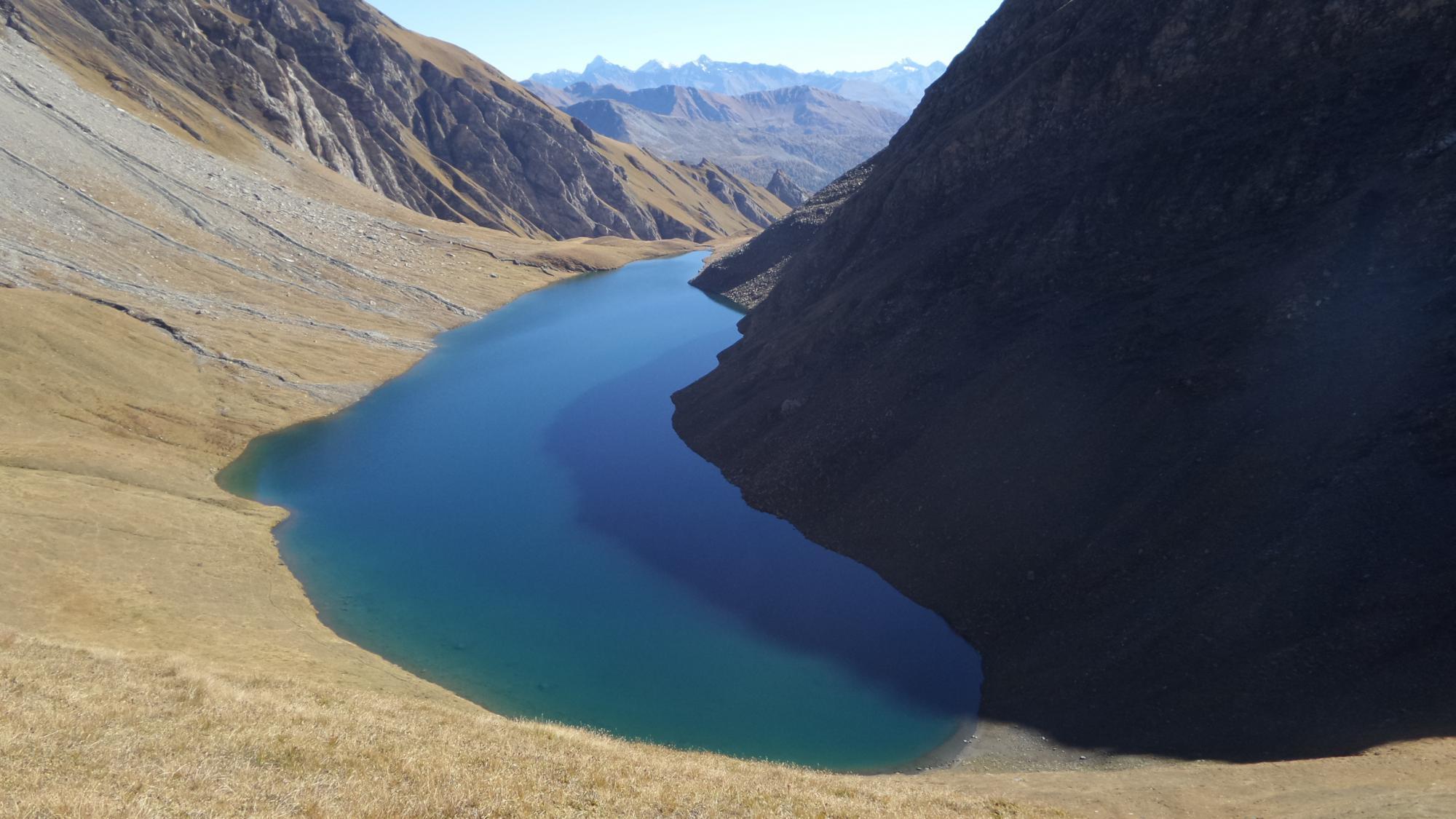 il Lago di Liconi visto dal colle momonimo