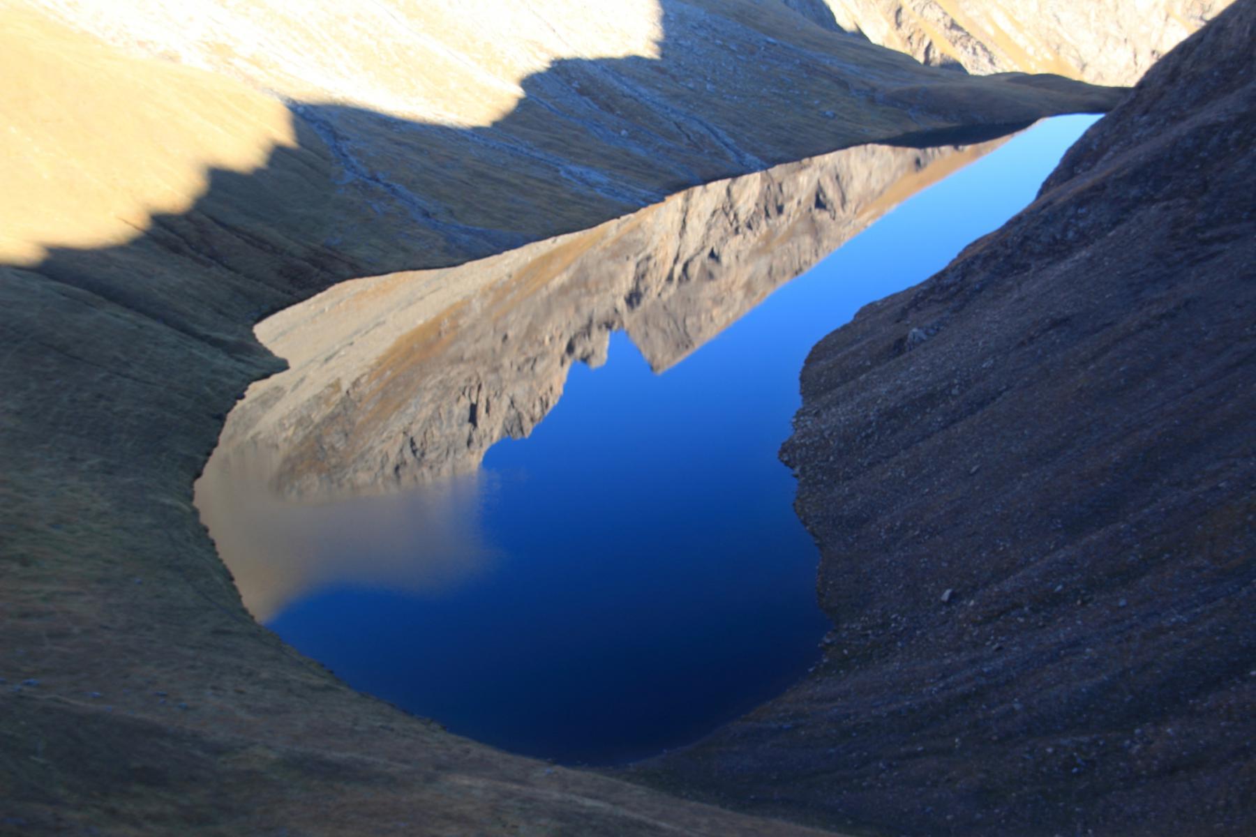 effetto specchio sul Lago di Liconi....da favola!