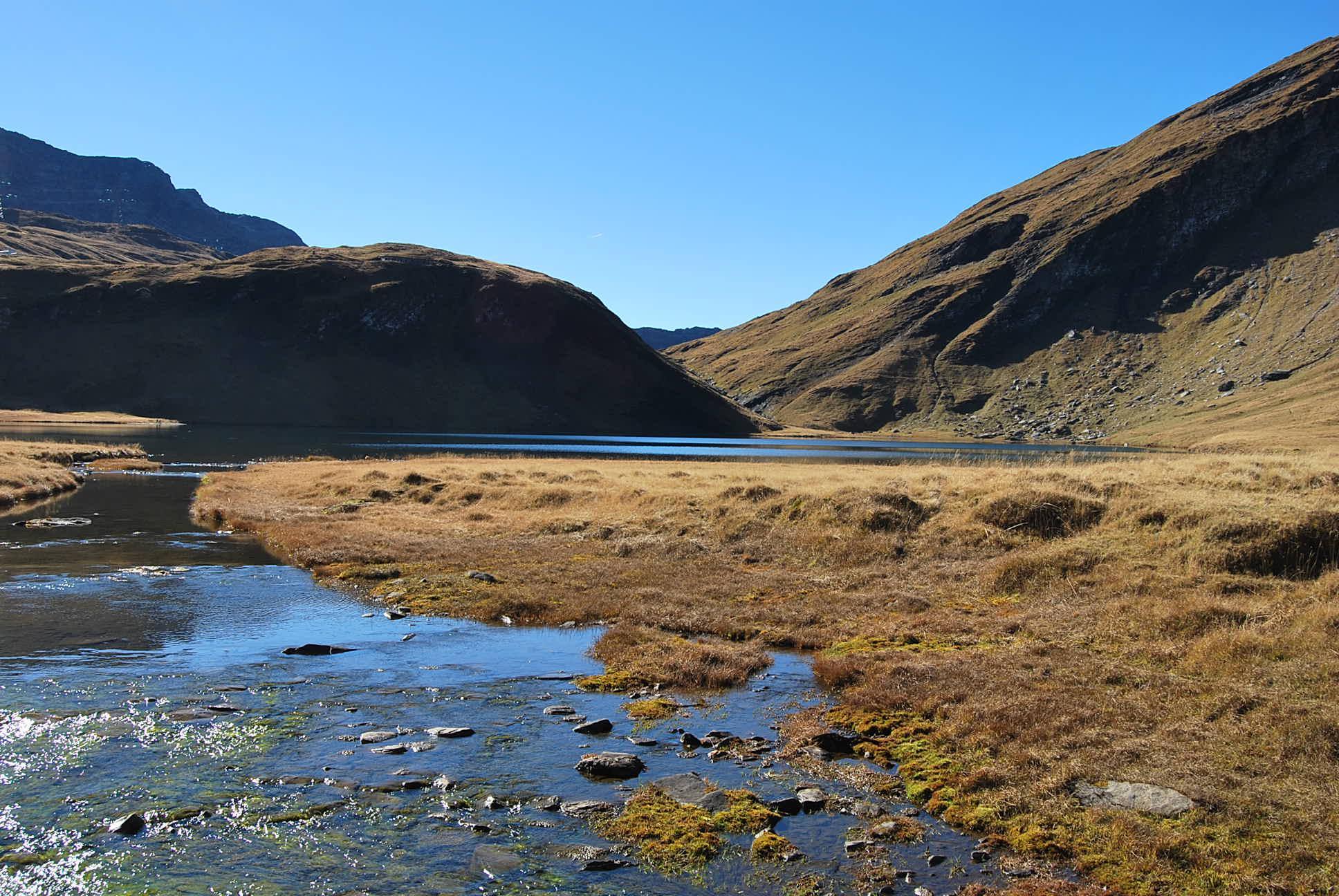 Rousses (Sommet des) dal lago di Verney per il Colle della Pointe Rousse 2014-10-18