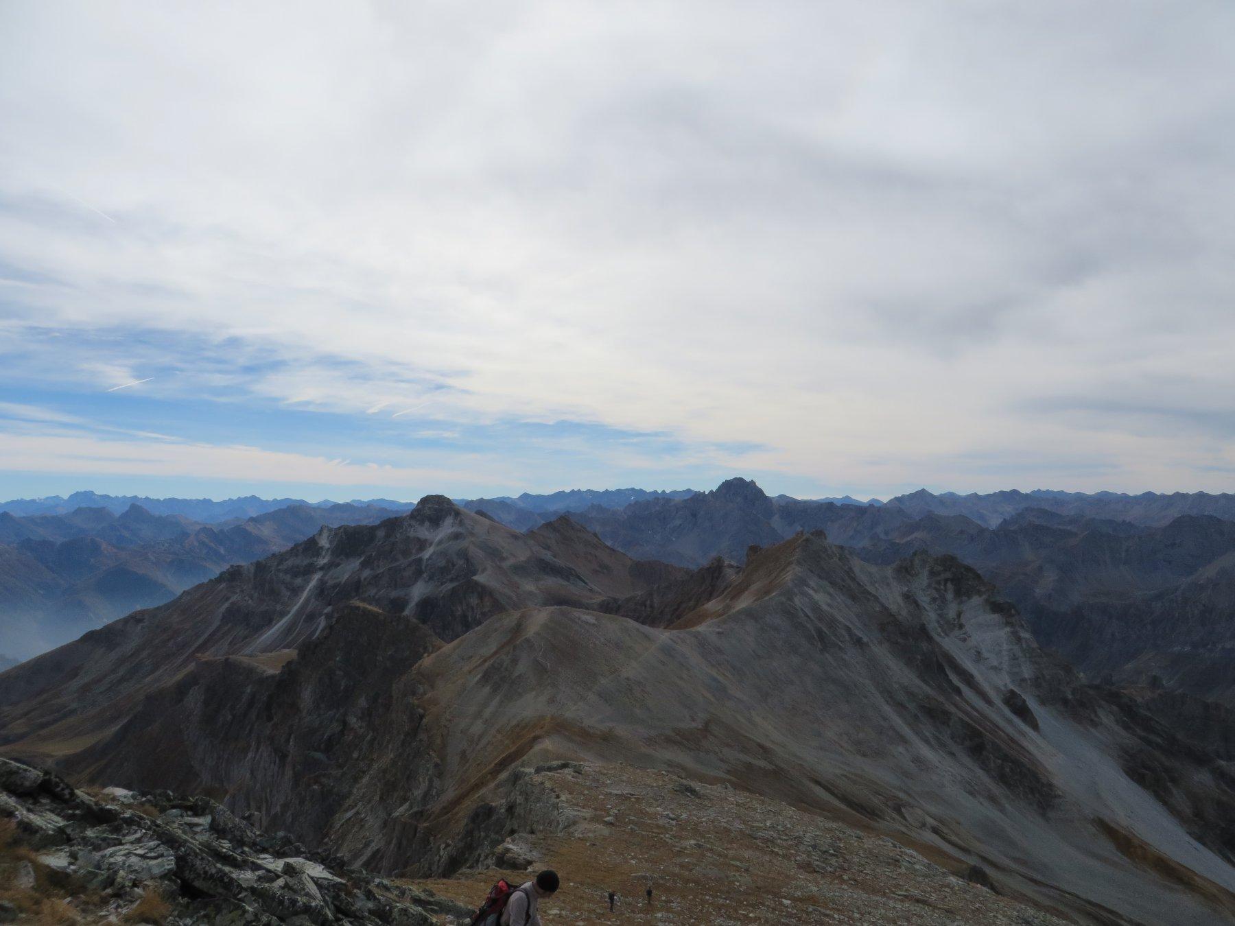 In cima al Monte Albrage
