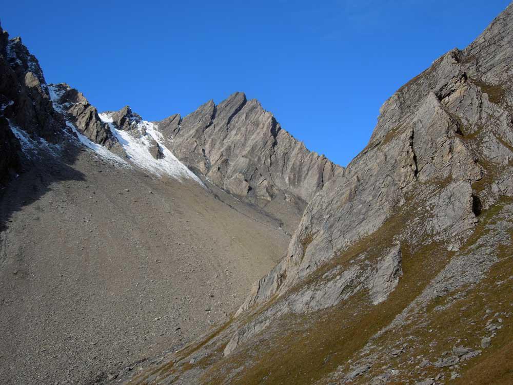Battaglione Aosta (Colle) da Planaval 2014-10-19
