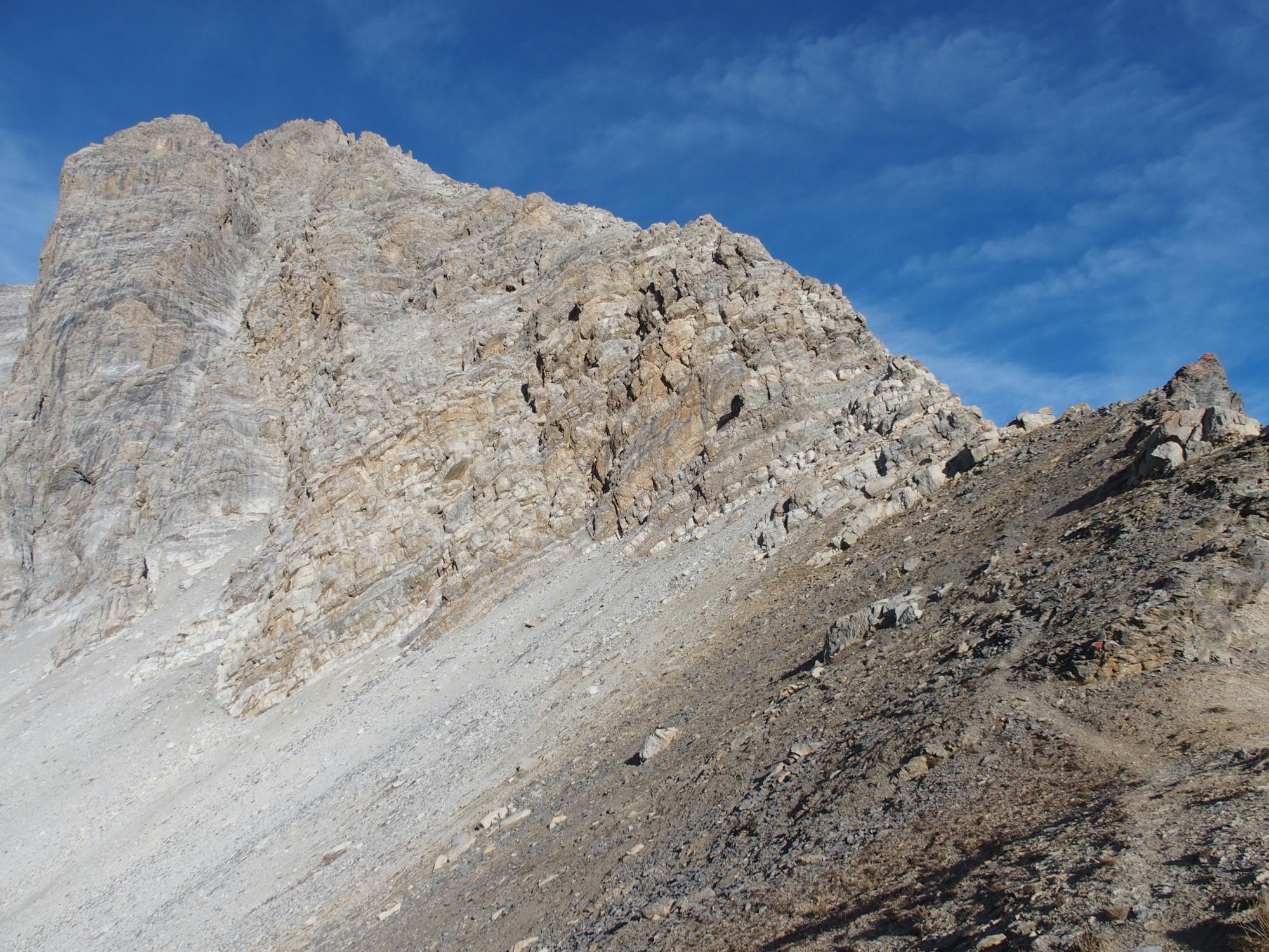 Chaberton (Monte) cresta SE - via Mario Perona 2014-10-19