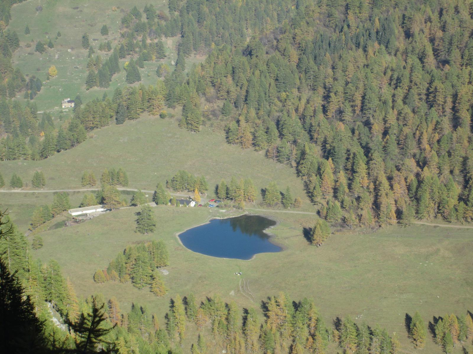 il laghetto di Bout du Col