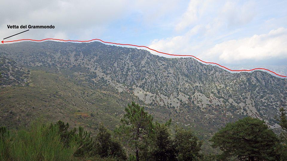 La cresta Sud-Est.