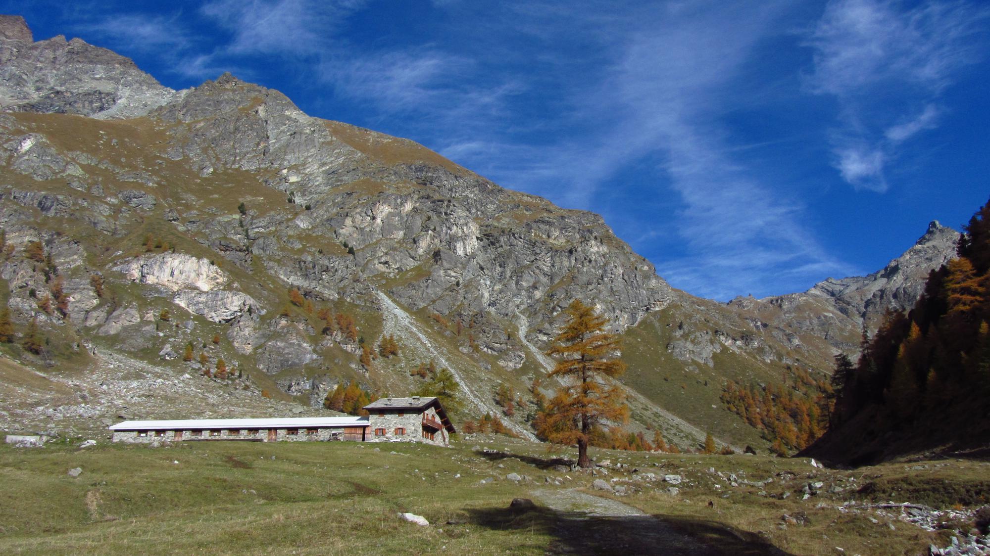 Destinazione finale: alpe Praterier