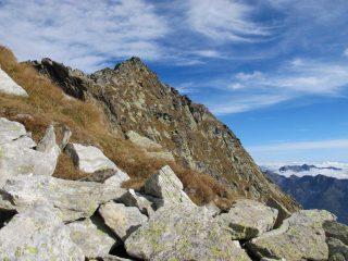 Monte Voghel dalla cresta S
