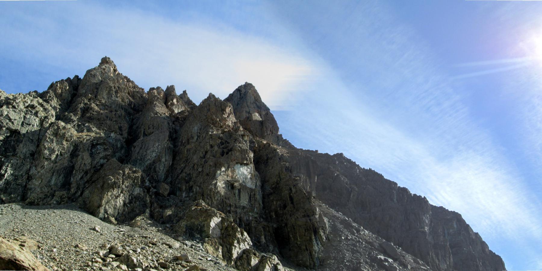 panoramica della cresta