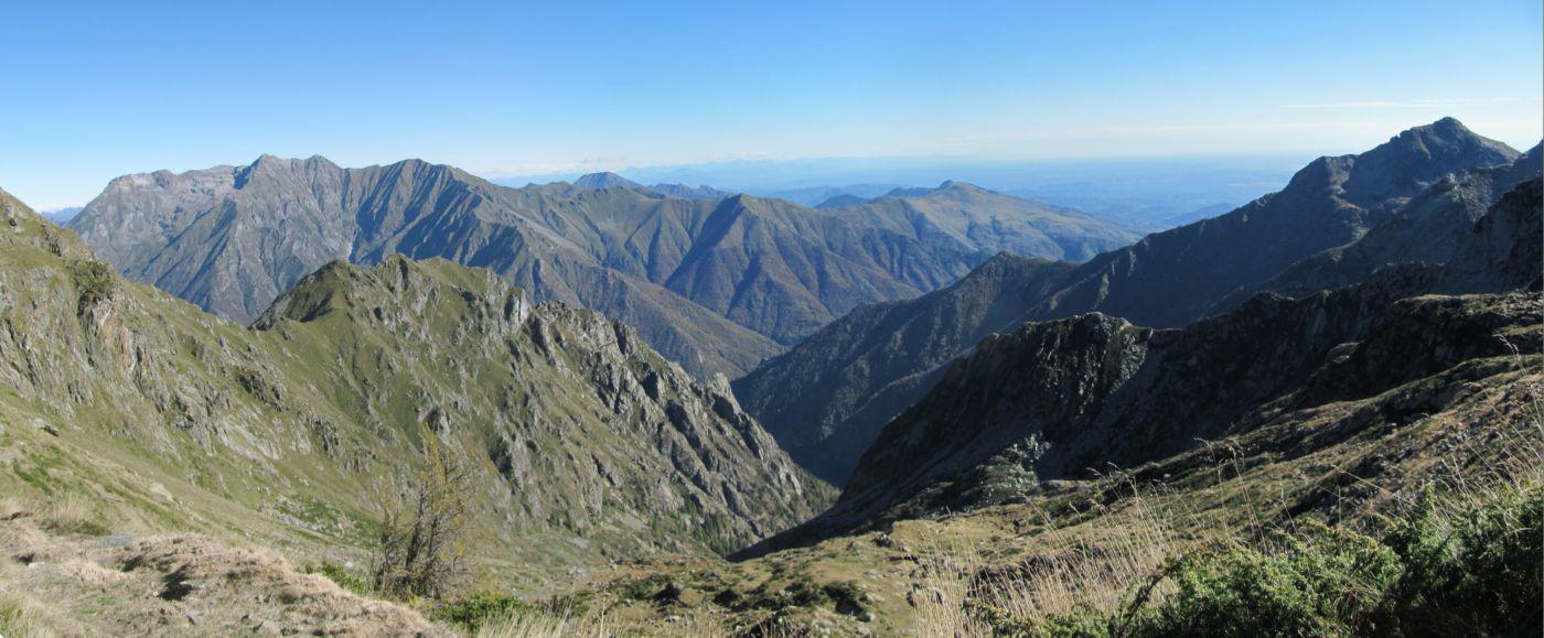 Il vallone della Gragliasca appena salito